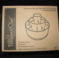 NEW IN BOX PAMPERED CHEF TOOL TURN - ABOUT IN BLACK #2171