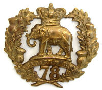 VICTORIAN 78TH SEAFORTH 2ND BN GLENGARRY BADGE
