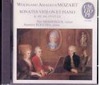MOZART / SONATES VIOLON ET PIANO / CD