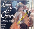 LETTRES D'OR DE L'OPERETTE - COMPILATION (CD)