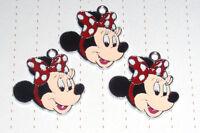 Cute Minnie Mouse & Mickey Mouse Enamel Charms Pendants Kitsch Kawaii