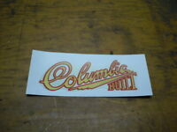 Mint Columbia Built Bicycle Decals