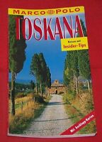 Marco Polo , Toskana  , Reisen mit Insider Tips , 1994
