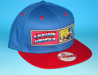 Captain America New Era 9Fifty Snapback Hat Marvel Comics Adjustable Avengers