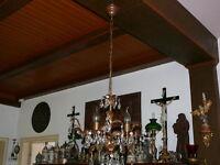 Lüster Lampe sehr schöne Florentiner Deckenlampe 3-flammig