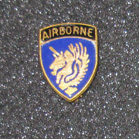 Wwii 325th Airborne Glider Crest Newcomb Sterling Pinback