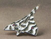 Vulcan bomber Collectable pin badge. R.A.F airplane. Royal air force lapel. Avro