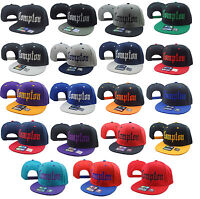 NEW VINTAGE COMPTON FLAT BILL SNAP BACK BASEBALL CAP HAT MANY COLORS AVAILABLE