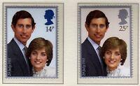 GB 1981 Royal Wedding SG 1160-1161 MNH Mint