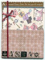 San-X Sentimental Circus Letter Set #2