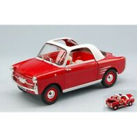 EDITORIA NT003 AUTOBIANCHI BIANCHINA TRASFORMABILE 1958 RED/WHITE 1:24 DIE CAST