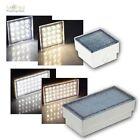 LED pavé Lumières 230v SOL Luminaire encastrable lumineux Patch Pierre