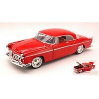 MOTORMAX MTM73302RD CHRYSLER C300 1955 RED 1:24 MODELLINO DIE CAST MODEL
