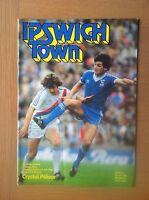 IPSWICH TOWN V CRYSTAL PALACE 1980-81