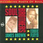 JAMES BROWN EDDIE FLOYD Remembering Roots of Soul CD ALBUM NEW - NOT SEALED