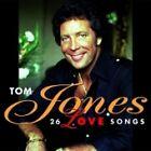TOM JONES 26 Love Songs CD ALBUM NEW - STILL SEALED