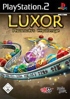 Play Station 2 Spiel PS2 LUXOR - PHARAOHS CHALLENGE mit Anleitung