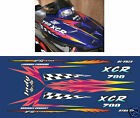 1999 POLARIS INDY XCR 700 HOOD DECALS graphics Reproductions