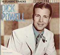 DICK POWELL ~ COLLECTIBLES: 16 CLASSIC TRACKS ~ 1982 UK MONO LP ~ MCA  MCL 1691