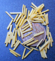 1:12 Scale 50 French Fries - Chips Dolls House Miniature Kitchen Food Accessory