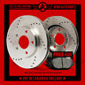 2009 Mitsubishi Galant Non Ralliart (Cross Drill) Rotors & Metallic Pads Rear