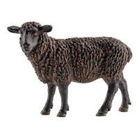 Schleich Farm Life Mouton Noir, Petit Mouton, Ferme, Figurine, 6,5 cm, 13785