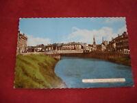 VINTAGE CAMBRIDGE: WISBECH Bridge and River Nene colour tint