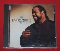 CD: Barry White , The Icon is Love , A&M 540280-2 , 1994 , Made in Germany