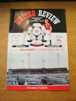 06/08/1986 Manchester United v Fluminense [Prince Of Wales Trust] . No obvious f