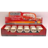 KINSMART KT7005D VOLKSWAGEN SAMBA BUS 1967 1:24 SET 6 PEZZI PIECES MODEL