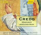 CREDO 3-CD NUEVO Y EMB. ORIG. BACH BEETHOVEN SCHUBERT MOZART E1352