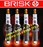 BR14YC-9 nr 4 candles ignition FIAT BRAVO 1400 1.4 cc BRISK