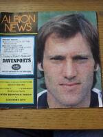 27/11/1982 West Bromwich Albion v Coventry City