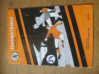 14/08/1976 Dundee United v Celtic [Scottish League Cup] (folded, rusty staples,