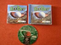 Tee off / Pal - Spain / DC Sega Dreamcast POWERSELLER