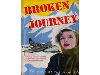 BROKEN JOURNEY  Cinema Book of the Film  Warwick Mannon Film Pb 1st Edition 1948