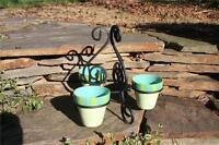 Southern Living at Home Gail Pittman Pots & Stand Provence NIB