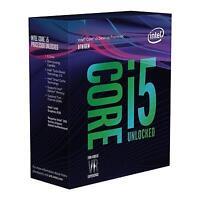 NEW! Intel I5 8600K Coffee Lake 3.6Ghz Six Core 1151 Socket Overclockable Proces