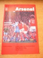 24/01/1978 Arsenal v Manchester City [Football League C