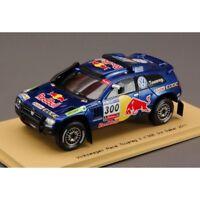 SPARK MODEL S0825 VW RACE TOUAREG 3 N.300 3rd DAKAR 2011 1:43 MODELLINO DIE CAST