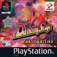 Dancing Stage Party Edition, Good PlayStation, Playstation Video Games