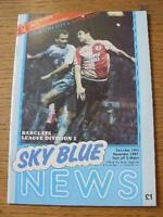 14/11/1987 Coventry City v Wimbledon