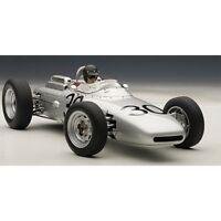 AUTOART AA86273 PORSCHE 804 F1 D.GURNEY 1962 N.30 WINNER FRANCE GP W/PILOTE 1:18