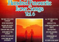 """Your Hundred Favourite Love Songs vol. 6 THE GEOFF LOVE SINGERS 12 """" LP (l9595)"""