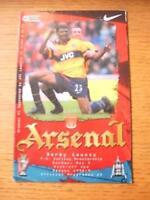 02/05/1999 Arsenal v Derby County  (Light Crease)