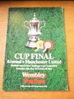 12/05/1979 FA Cup Final: Manchester United v Arsenal [At Wembley] (Slight Foldin