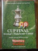 12/05/1979 FA Cup Final: Arsenal v Manchester United [At Wembley] . No obvious f