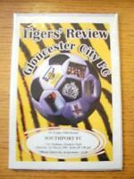 01/03/2003 Gloucester City v Southport [FA Trophy] . No obvious faults, unless d