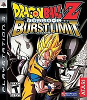 Dragon Ball Z: Burst Limit (Sony PlayStation 3, 2008)M