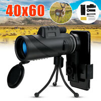 40X60 Zoom Optical Monocular Telescope Night Vision Zoom Scope for Mobile Phone